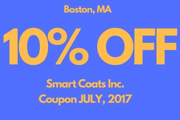 Coupons July 2017 - Smart Coats Inc - Boston MA